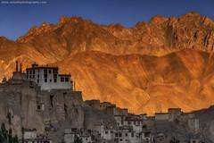 Lamayuru Monastery @ Ladakh, India (Avisekh) Tags: ladakh india lamayuru monastery sunset golden architecture buddhism religious wwwavisekhphotographycom ancient nikon d850 70200f4 tripod rrs lee filters gnd polarizer