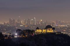 Griffith Observatory (©skarson) Tags: griffithobservatory losangeles longexposure canon canoneos6d canonef135mmf2l 135mm la night nightphotography nd leefilters leebigstopper sky light usa america california