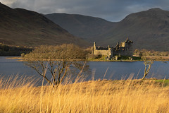 Golden Threads (johnkaysleftleg) Tags: kilchurncastle lochawe evening goldenlight castle loch mountain scotland canon760d sigmaaf1770mmf2845dcmacro