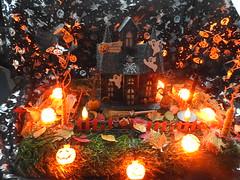 Happy Halloween 🎃 (blue33hibiscus) Tags: halloween ghost pumpkin spider bat lights hauntedhouse