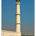 Agra IND - Taj Mahal Minarett 10