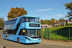 Nottingham City Transport 434 (SRB Photography Edinburgh) Tags: nottingham city transport buses bus sky blue 45 travel uk england