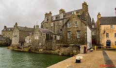 Queens Hotel Lerwick (red.richard) Tags: queens hotel lerwick shetland sea harbour pier