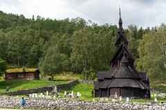 Borgund Stave Church - Norway (Melvin Debono) Tags: borgund stave church norway built sometime between 1180 1250 ad is located village municipality lærdal sogn og fjordane county it classified triple nave sogntype type the part parish indre deanery diocese bjørgvin no longer regularly used for functions now museum run by society preservation ancient norwegian monuments melvin debono canon photography travel grass tree sky landscape field park road