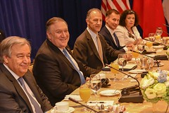 Secretary Pompeo Meets With UN Secretary-General Guterres and Permanent Members of UN Security Council in New York City (U.S. Department of State) Tags: mikepompeo unga unga2018 newyorkcity unsc