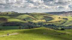 Country lane in the Shropshire Hills (Baz Richardson (now away until 26 Oct)) Tags: shropshire shropshirehills countryside hills farmland aonb