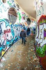 Scott Jarvie (Thomas Hawk) Tags: america california cossonhall jarvie sf sagehall sanfrancisco scottjarvie starburst ti treasureisland usa unitedstates unitedstatesofamerica abandoned barracks decay graffiti fav10