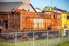 Sooper Dooper Yooper (dscharen) Tags: els escanaba escanabalakesuperior michigan roundhouse trains up upperpeninsula wells baldwin baldwinlocomotiveworks blw calumethecla ds441000