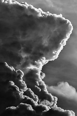 The Big Cloud (Parveen Singh) Tags: cloud clouds cloudy huge monsoon sky blackandwhite bw shades monochrome pattern dark canon canon550d