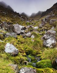 MakingTheStreamNorthernCorriesofLiathach_2018_09_15_1243 (Sam Waddy) Tags: scotland landscape light rain d800 tiltshift pce water waterfall mountains torridon