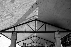 Reflection #1 (Jethro_aqualung) Tags: umbria bevagna italy water reflection nikon d800e bn bw monochrome monocromatico architecture jethroaliastullph