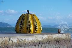 Yellow Pumpkin 1, Naoshima, Kagawa (usov.usov) Tags: pumpkin naoshima kagawa japan