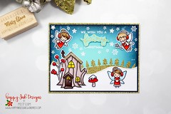 All That Glitters Is Gold (Misty Elam) Tags: frostyfairyfriends distressinks inkblending copics copiccoloring artsandcrafts crafts arts handmadecards papercrafting handmadegreetingcards handmade papercrafts cardmaking lawnfawn