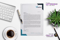 Corporate Letterhead (anupfpi@ymail.com) Tags: brand identity stationary branding letterhead business card