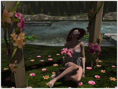 .Flower Arch (Abi Latzo) Tags: secondlife secretposes sl shopping events bento beauty people pose photography portrait poses posefair avatar mesh decor flowers model