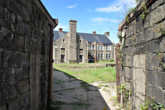 Yard and Buildings (Throwingbull) Tags: eastern state penitentiary jail prison incarceration incarcerated inmate inmates philadelphia pa pennsylvania history historic cell cells holding