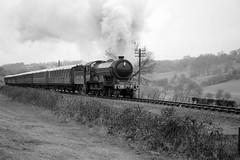 SVR 81199bw (kgvuk) Tags: svr severnvalleyrailway train railway heritage preservation severnlodge locomotive steamlocomotive steamtrain steamengine 8572 460 lner b12