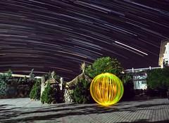 The motion of the stars and the standing orb. (Nikolas Fotos) Tags: orb sphere startrail startrails lightpainting lightart llightpainting lihgt longexposurephoto lichtmalerei lightpaintingphotography lichtkunst longexposure nightshot nightphoto nightphotography nightscape night nightsky nightlights crimea