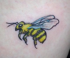 bee add on 2 (YankeeDoodlezArt) Tags: cute cutetattoo tattoo bee color colortattoo colorful sunflower sunflowertatttoo beetattoo flower flowertattoo floral beesandflowers flowerandbeetattoo addon tattooaddon extradetails insects blackandyellow closeup savethebees nature flowers art insect garden honey oldeschooltattoo marietta georgia yankee doodlez yda ydart
