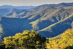 Late Sun Shadows (esywlkr) Tags: landscape mountains brp blueridgeparkway nc northcarolina nature