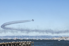 About Turn (Kunal Baweja) Tags: tour tourism tourist ecotourism worldtour travel worldtravel trip canon usa unitedstates aircraft airforce airshow airplane fleetweek sanfrancisco color colors daylight daylights