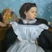 DEGAS Edgar,1858-67 - La Famille Bellelli (Orsay) - Detail 04