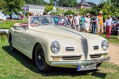 Alfa Romeo 6C 2500 Sport cabriolet by Pininfarina 1947 fr3q (André Ritzinger) Tags: alfaromeo 6c2500 sport cabriolet pininfarina 1947 auto cars