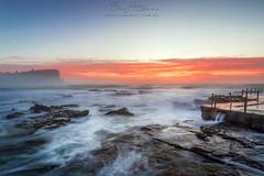 Avalon Sunrise October (B3nny2099) Tags: sunrise2018 avalonbeach australia landscape seascape oceanpool benholmesphotography