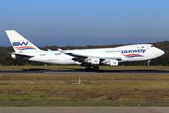 Silk Way West Airlines  Boeing 747-4H6(F/SCD) VP-BCR (widebodies) Tags: frankfurt hahn hhn edfh widebody widebodies plane aircraft flughafen airport flugzeug flugzeugbilder silk way west airlines boeing 7474h6fscd vpbcr