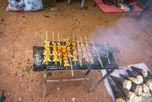Street Food in the Angkor Wat Area in Siem Reap
