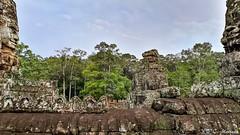 180726-199 Le Bayon (clamato39) Tags: bayon angkor angkorthom temple religieux religion cambodge cambodia asia asie ciel sky voyage trip ancestrale patrimoine ruines ruins historique historic history