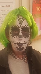 Getting ready for Halloween Horrors tonight 5pm - 8pm in the centre see you there. https://t.co/J3AdeGvjKl