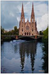 Agujas en el agua (mariadoloresacero) Tags: ship bâteau barco canaux channels canales france francia strasbourg estrasburgo