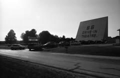 Carthage, MO (cestlameremichel) Tags: bnw minolta dynax 40 filmisnotdead ilford super xp2 400 monochrome monochromatic analog analogue analogica argentique 35mm film route 66 oklahoma illinois missouri kansas roadtrip