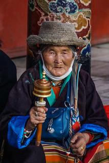 Woman in Lhasa - Tibet