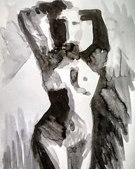 Γυμνό. 2006 Σπουδή με μαύρη εκολίνη σε χαρτί - #σχεδιο #σχέδιο #μελανι #γυμνο #γυμνό #μοντέλο #μοντελο #ασπρομαυρο #ζωγραφική #nudeartmodel #nudepainting #nude_art #nudeartistic #nudedrawing #nudeart #nude #nudesketch #blackandwhitesketches #ecolineart #e (IaTriDis) Tags: iatridis photographer pictures photos photo