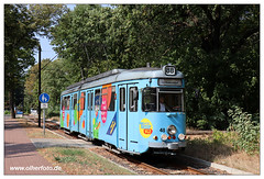 Tram SRS - 2018-30 (olherfoto) Tags: tram tramway strasenbahn villamos srs düwag schöneiche rüdersdorf canoneosm50