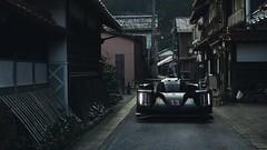 Juxtaposition (Jaden Low) Tags: porsche 919 hybrid le mans lemans 2017 race japan ancient town city atmosphere light colour color