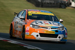 BTCC - Josh Caygill ({House} Photography) Tags: btcc british touring cars championship race racing motorsport motor sport car automotive final round brands hatch uk kent gp circuit canon 70d housephotography timothyhouse sigma 150600 contemporary josh caygill mg mg6