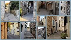 Narrow alleys......on Explore (wilma HW61) Tags: steegjes alleys collage photoborder tisno kroatië dalmatië murter croatia hrvatska croazia lacroatie dalmazia dalmacija dalmatia europa europe wilmahw61 wilmawesterhoud building road