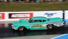 Roofer's Toy_2917 (Fast an' Bulbous) Tags: racecar drag strip race track car vehicle automobile motorsport outdoor nikon santa pod