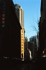 35mm (Cameron Oates [IG: ccameronoates]) Tags: 35mm film kodak ektar street photography sunset