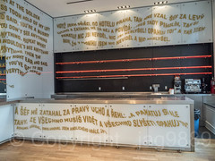 Built-in Bar, Bohemian National Hall, Upper East Side, Manhattan, New York City (jag9889) Tags: 2018 20181013 art artwork bar czech czechrepublic czechia event graffiti indoor kitchen landmark manhattan ny nyc neon newyork newyorkcity newyorkisopen ohny ohnyweekend openhouse openhousenewyork painting streetart tagging text ues usa unitedstates unitedstatesofamerica uppereastside jag9889
