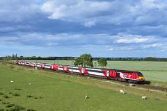 43300 Craigentinny 1914-2014 at Colton Junction (ThanksDrBeeching) Tags: train railway pociąg kolej zug bahn eisenbahn hst vtec highspeedtrain virgintrains virgintrainseastcoast class43 43300 colton coltonjunction