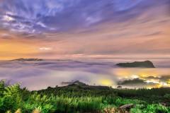 烏嘎彥露營區~日落雲海~ Clouds Sunset (Shang-fu Dai) Tags: 台灣 taiwan formosa 苗栗 泰安鄉 nikon d800e 烏嘎彥露營區 afs1635mmf4 戶外 風景 天空 日落