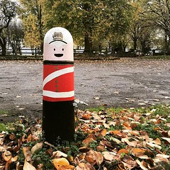 Not the last post. (Cathy G) Tags: instagram ifttt post mural painted soldier military remembrance remember poppy poppyappeal witney oxfordshire iphone iphone7 iphoneography squareformat thewhitehart minsterlovell autumn scavengerhunt101