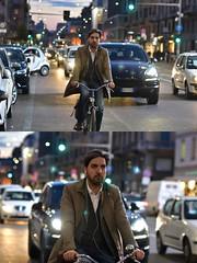[La Mia Città][Pedala] (Urca) Tags: milano italia 2018 bicicletta pedalare ciclista ritrattostradale portrait dittico bike bicycle nikondigitale scéta 115922