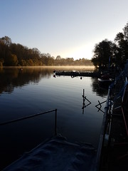 Early morning mist (roger_forster) Tags: vobsterquay mells somerset mist dawn diving bsac