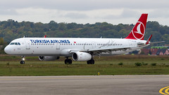 Airbus A321-231(WL) TC-JSP Turkish Airlines (William Musculus) Tags: airport spotting basel mulhouse freiburg euroairport eap bsl mlh lfsb airbus a321231wl tcjsp turkish airlines tk thy a321200