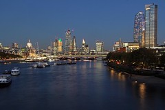 London (st_hart) Tags: city london skyline architecture st pauls cathedral tower 42 heron salesforce gherkin scalpel cheesegrater walkie talkie southwark southbank waterloo bridge